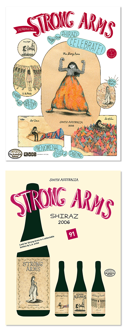 Strong Arms postcards