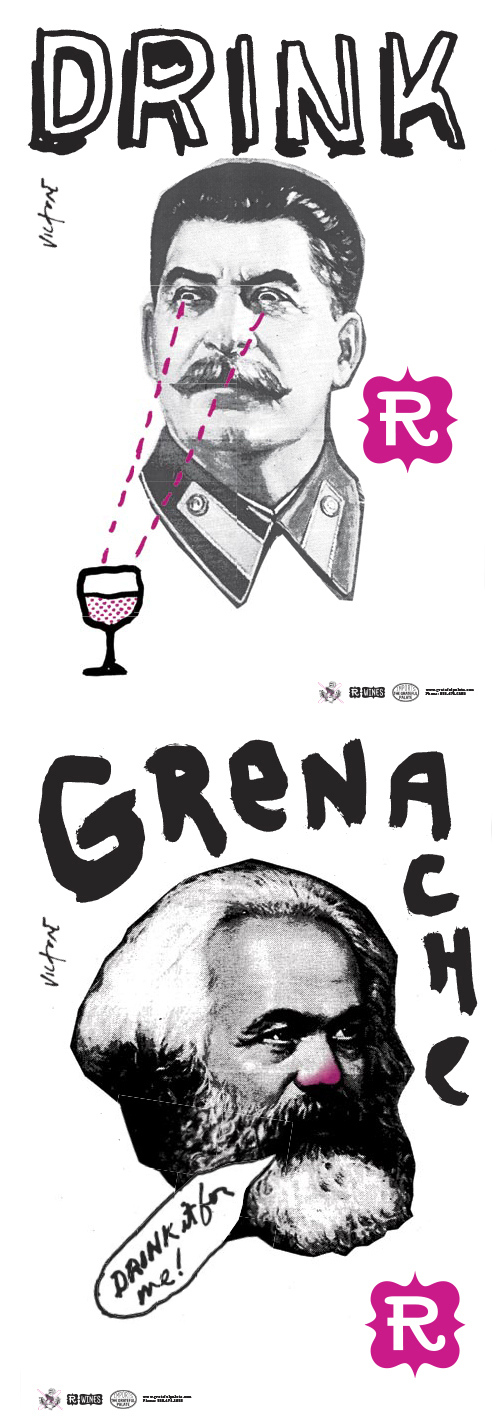 Drink Grenache posters 1